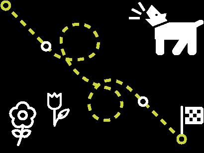 Large Dog Illustration