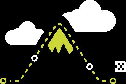 Large Mountain Illustration